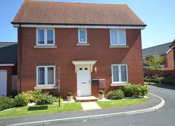 Thumbnail 3 bed detached house for sale in Pitt Park, Cranbrook, Exeter.