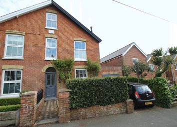 Thumbnail 3 bedroom semi-detached house to rent in Albert Road, Gurnard, Cowes