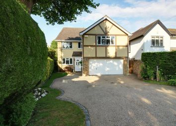 Thumbnail 5 bed detached house to rent in Tolmers Road, Cuffley, Potters Bar