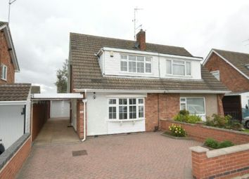 Thumbnail 3 bed semi-detached house for sale in Attfield Drive, Whetstone, Leicester