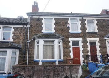 Thumbnail 3 bed terraced house for sale in Park Road, Bargoed