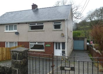 Thumbnail 3 bed semi-detached house for sale in 14 Bro Gido, Gilfachreda, New Quay