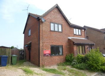 Thumbnail 2 bed semi-detached house for sale in Meadow Close, Stilton, Peterborough