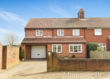 Thumbnail 3 bedroom semi-detached house for sale in Threehammer Common, Neatishead, Norwich
