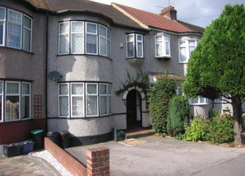 Thumbnail 3 bedroom terraced house to rent in Reynolds Avenue, Chadwell Heath, Romford