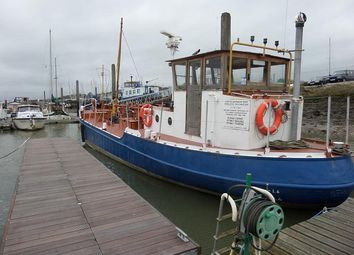 Thumbnail 1 bedroom houseboat for sale in Vicarage Lane, Port Werburgh, Hoo, Rochester