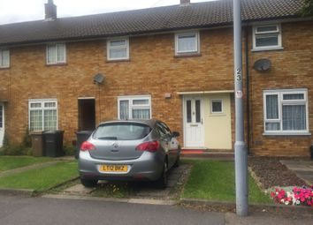Thumbnail 2 bed terraced house to rent in Birdsfoot Lane, Luton, Beds