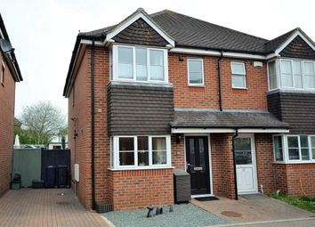 Thumbnail 3 bedroom semi-detached house for sale in Gardens Close, Stokenchurch, High Wycombe