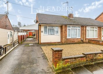 Thumbnail 2 bed semi-detached house to rent in Mendip Road, Northampton