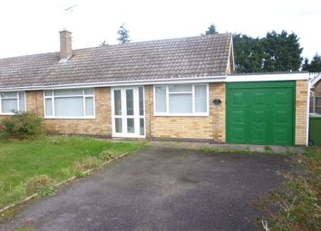 Thumbnail 3 bed semi-detached bungalow for sale in Longfellow Drive, Balderton, Newark