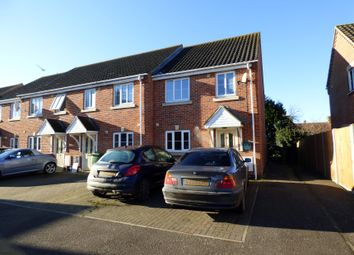 Thumbnail 3 bed end terrace house for sale in Store Street, Roydon, Diss, Norfolk