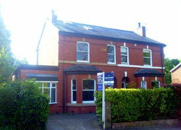 Thumbnail 4 bedroom semi-detached house to rent in Hazelhurst Road, Worsley, Manchester