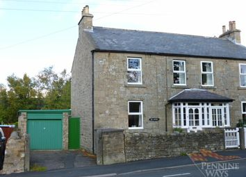 Thumbnail 3 bedroom semi-detached house for sale in Nenthead Road, Alston
