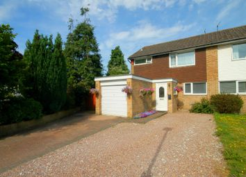 Thumbnail 3 bed semi-detached house for sale in Bushell Road, Oakdale, Poole