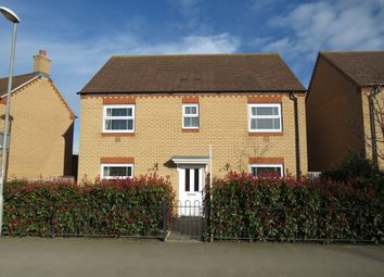 Thumbnail 4 bed detached house for sale in Stratford Road, Roade, Northampton