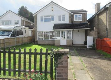 Thumbnail 4 bed detached house to rent in Aldeby Close, Leicester