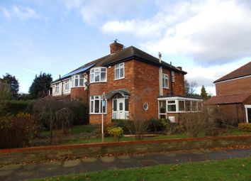 Thumbnail 3 bed semi-detached house to rent in Hunters Way, York