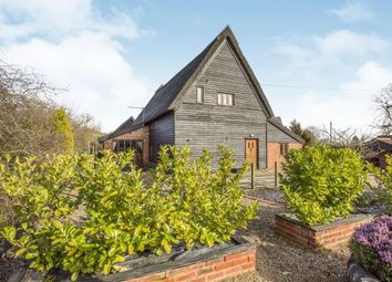 Thumbnail 4 bed barn conversion for sale in Westhall, Halesworth, Suffolk