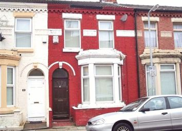 Thumbnail 3 bedroom terraced house to rent in Olney Street, Walton, Liverpool