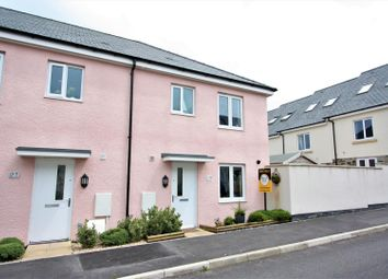 Thumbnail 3 bed terraced house for sale in Button Drive, Newquay