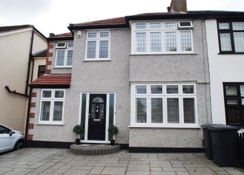 Thumbnail 4 bed semi-detached house for sale in Granton Avenue, Upminster