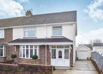 Thumbnail 3 bed semi-detached house for sale in Oaklands Road, Bridgend