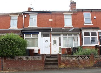 Thumbnail 3 bedroom terraced house to rent in Burleigh Road, Wolverhampton