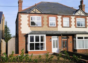 Thumbnail 3 bed semi-detached house to rent in Bexwell Road, Downham Market
