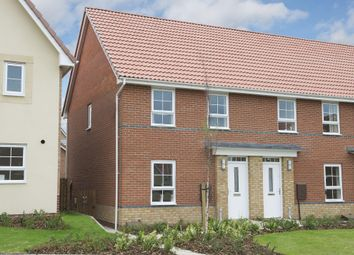 "Thumbnail 3 bed semi-detached house for sale in ""Finchley"" at Countess Way, Broughton, Milton Keynes"