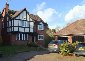 Thumbnail 4 bed detached house for sale in Coppice Grove, Lichfield