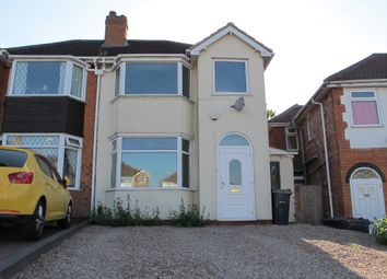 Thumbnail 3 bed semi-detached house for sale in Dovercourt Road, Sheldon, Birmingham