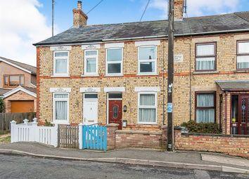 Thumbnail 2 bed terraced house to rent in Lakenham Terrace, Elm Low Road, Wisbech