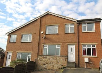 Thumbnail 3 bedroom semi-detached house for sale in Woodroyd, Golcar, Huddersfield