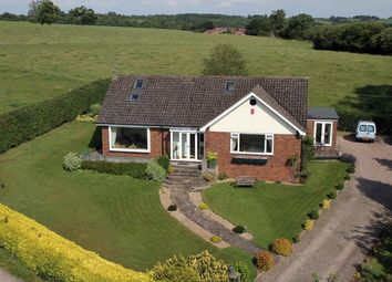 Thumbnail 4 bed detached bungalow for sale in Pingle Lane, Stone