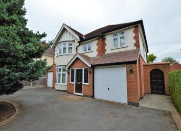 Thumbnail 5 bed detached house for sale in Saffron Road, Wigston