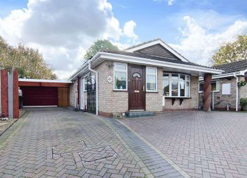 Thumbnail 3 bed detached bungalow for sale in Halecroft Avenue, Wednesfield, Wolverhampton