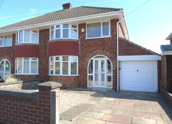 Thumbnail 3 bed semi-detached house for sale in Canterbury Close, Aintree, Liverpool