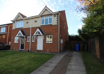 Thumbnail 2 bed semi-detached house for sale in Langton Drive, Northburn Green, Cramlington