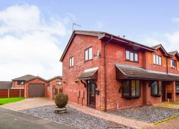 Thumbnail 3 bed town house for sale in Vienna Way, Longton, Stoke-On-Trent