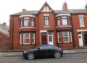 Thumbnail 4 bed flat to rent in Crondall Street, South Shields