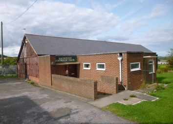 Thumbnail Land for sale in Former Sacriston Catholic Club, Front Street, Durham, Durham