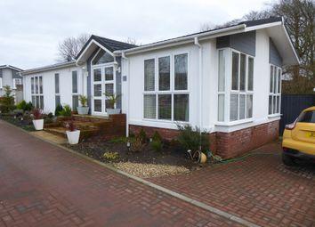 Thumbnail 2 bed mobile/park home for sale in Shirmart Park, Halsinger, Braunton, Devon
