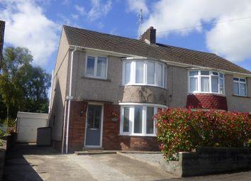 Thumbnail 3 bed semi-detached house for sale in Dulais Drive, Aberdulais, Neath .