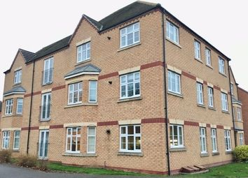 Thumbnail 2 bed flat to rent in Darwin Crescent, Loughborough