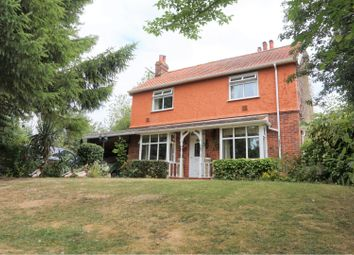 Thumbnail 3 bed detached house for sale in Crowcroft Road, Ipswich