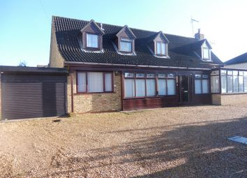 Thumbnail 5 bed detached house for sale in Crowland Road, Eye, Peterborough