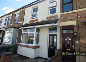 Thumbnail 3 bedroom terraced house for sale in St. Margarets Road, Peterborough, Cambs.