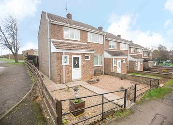 Thumbnail 3 bed end terrace house for sale in Orchard Close, Weldon, Corby