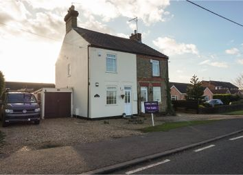 Thumbnail 2 bed semi-detached house for sale in Thorney Road, Peterborough