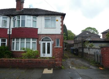 Thumbnail 4 bed semi-detached house for sale in Ruskin Road, Old Trafford, Manchester.